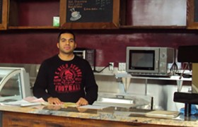 Victor Caicero, Antigua Coffee Shop and Restaurant