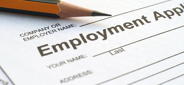 Employment Application Blog