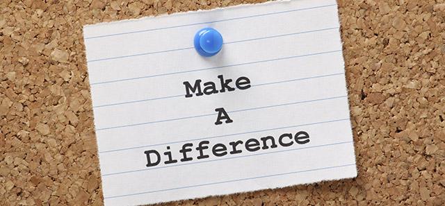 Make a Differene Blog