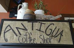 Antigua Coffee Shop-Inside