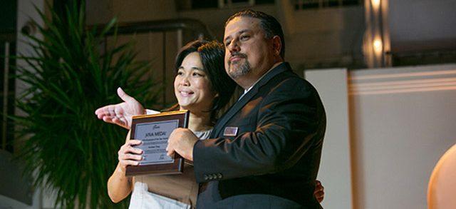 Employee of the Year, Karoleen Feng