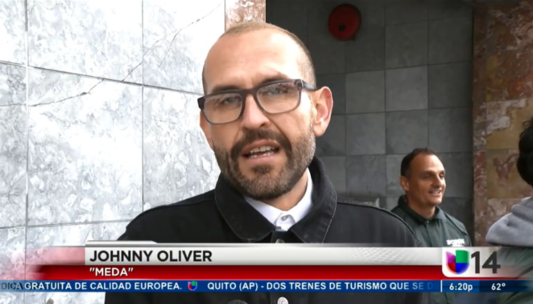 Johnny Oliver on Univision