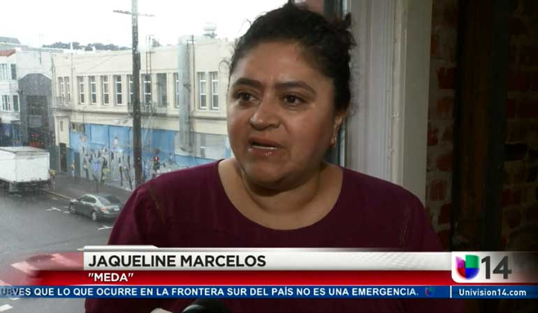 JACKIE MARCELOS SPEAKS ON TAXES (UNIVISION)