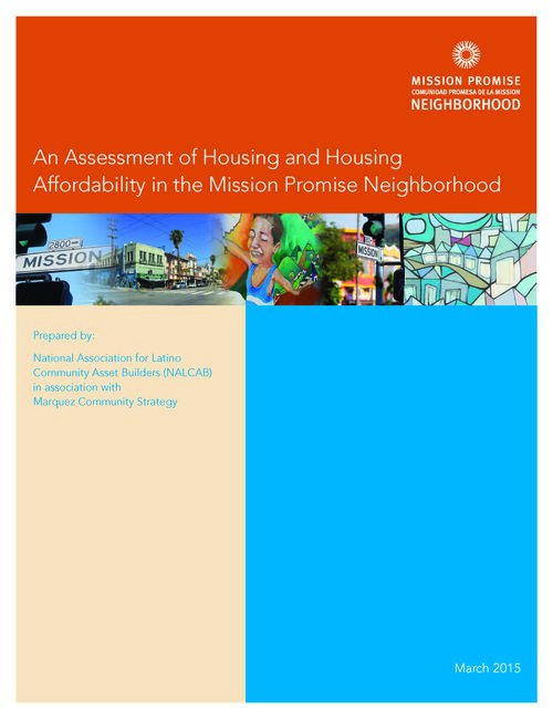 An Assessment of Housing and Housing Affordability in the Mission Promise Neighborhood