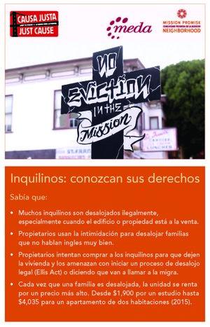 Inquilinos: Conozcan sus Derechos