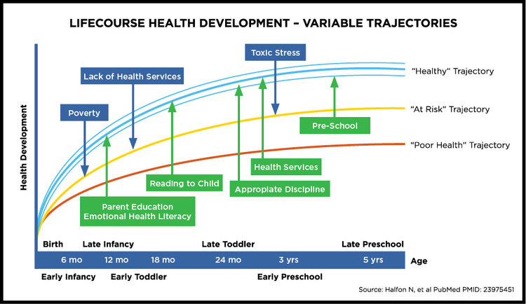 Lifecourse Health Development - Variable Trajectories