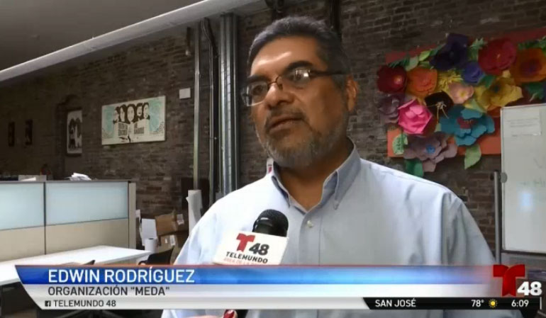 EDWIN RODRIGUEZ SPEAKS ON CALIFORNIA LABOR LAWS, Telemundo