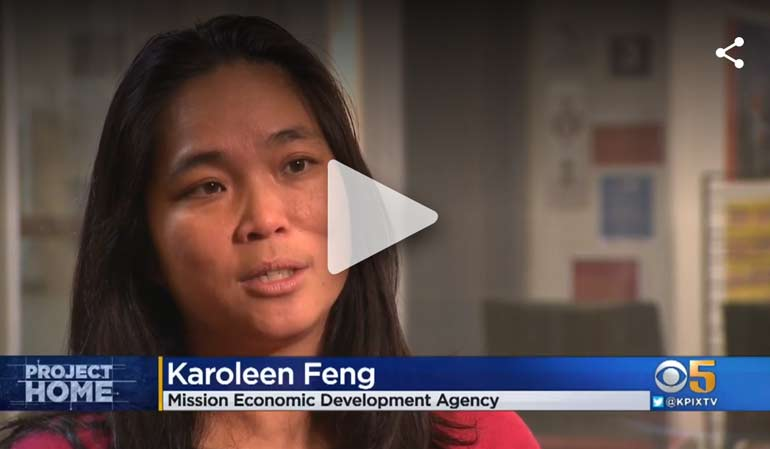 KAROLEEN FENG SPEAKS ON THE SMALL SITES PROGRAM (KPIX CBS-5)