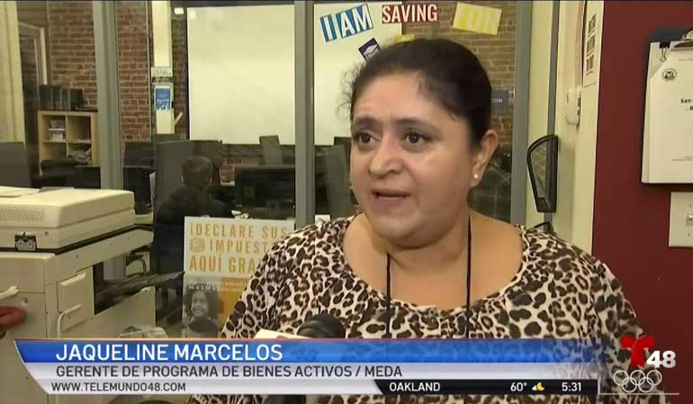 Jackie Marcelos Speaks on Taxes, Telemundo