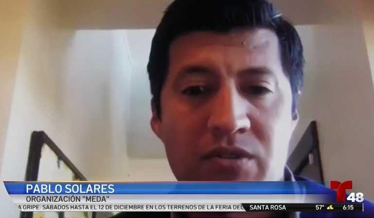 Pablo Solares Speaks on the Latino Small Business Fund (Telemundo)