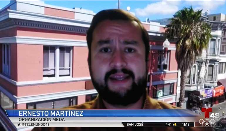 Ernesto Martinez on Telemundo