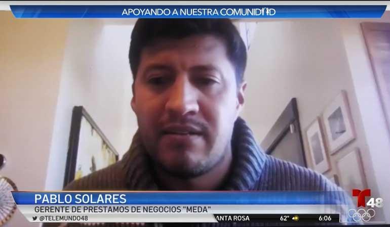 Pablo Solares MEDA Telemundo