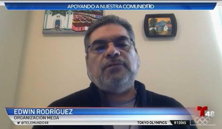 Edwin Rodriguez on Telemundo