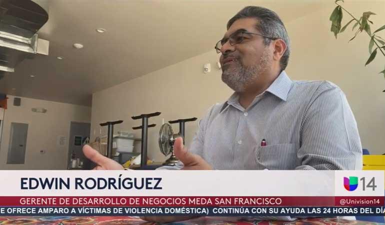 Edwin Rodriguez on Univision